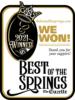 Best of the Springs Winner